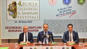 GELENEKSEL SANATLAR FESTİVALDE BULUŞUYOR