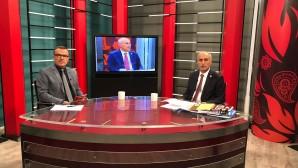 BELEDİYE BAŞKANI AYDIN OLAY TV'DE CANLI YAYINDA