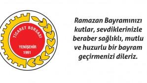 Yenişehir Ticaret Borsası Ramazan Bayramı kutlaması