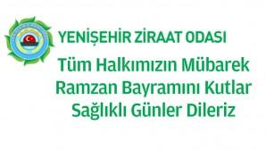 Yenişehir Ziraat Odası Ramazan Bayramı kutlaması