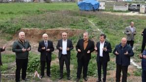 Kurtuluş Mahallesi'nde cami inşaatına başlandı