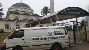 Merkez ve kırsal mahallelerdeki tüm camiler temizleniyor
