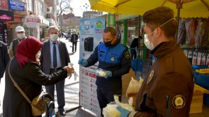 Yenişehir Belediyesi Zabıta Müdürlüğü Salı Pazarı'nda önlemleri artırdı