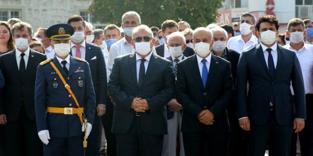 Yenişehir'de 30 Ağustos coşkusu