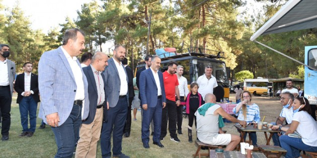 Karavan tutkunları Bursa'da buluştu