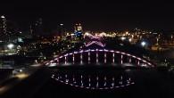 Köprüler ışık saçıyor